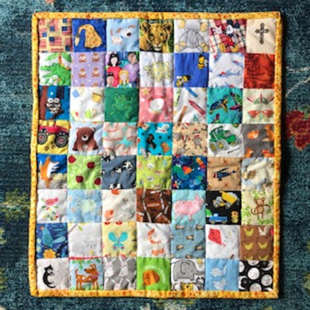 Eye Spy Quilt: Life in the Jungle (Boy or Girl)