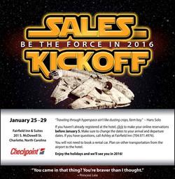 Annual Sales Meeting Eblast