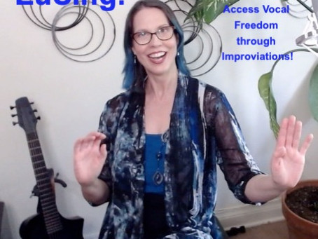 Join Me in July for Singing Classes and Vocal Improvisation Sessions Online