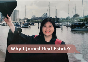 Why I joined Real Estate
