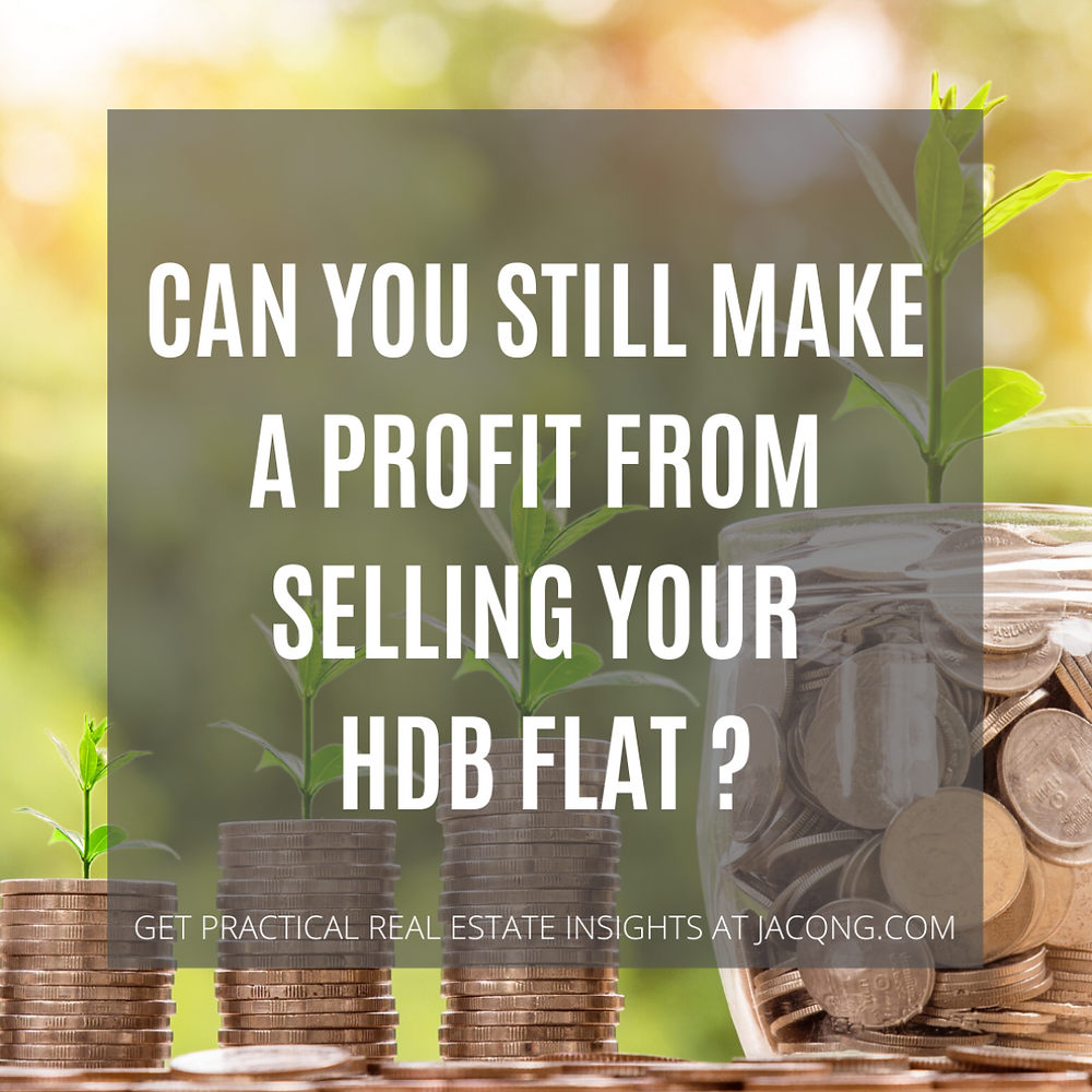 Can you still make a profit from selling your hdb flat?