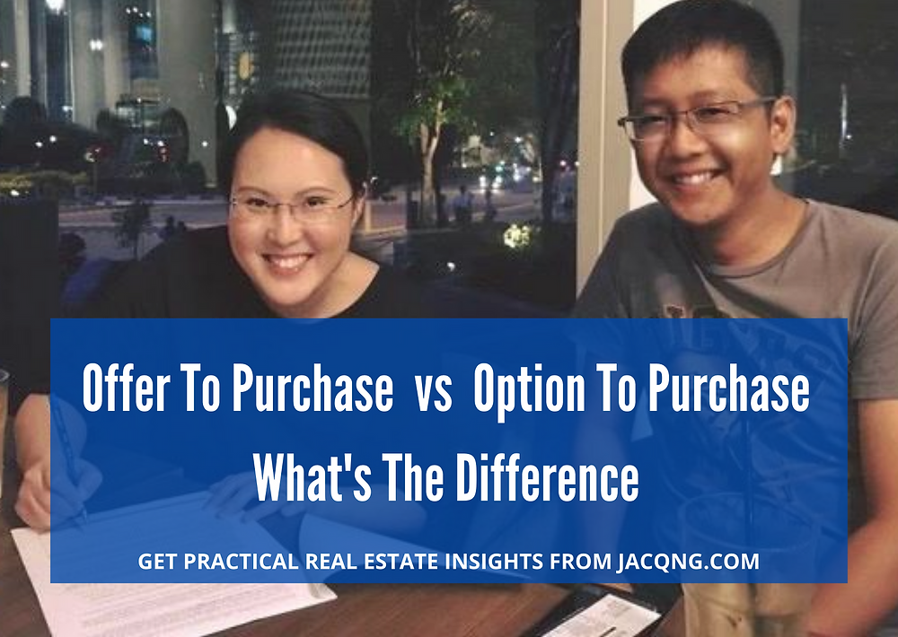 option to purchase vs offer to purchase