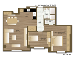 dome residence 2+1 155 m2