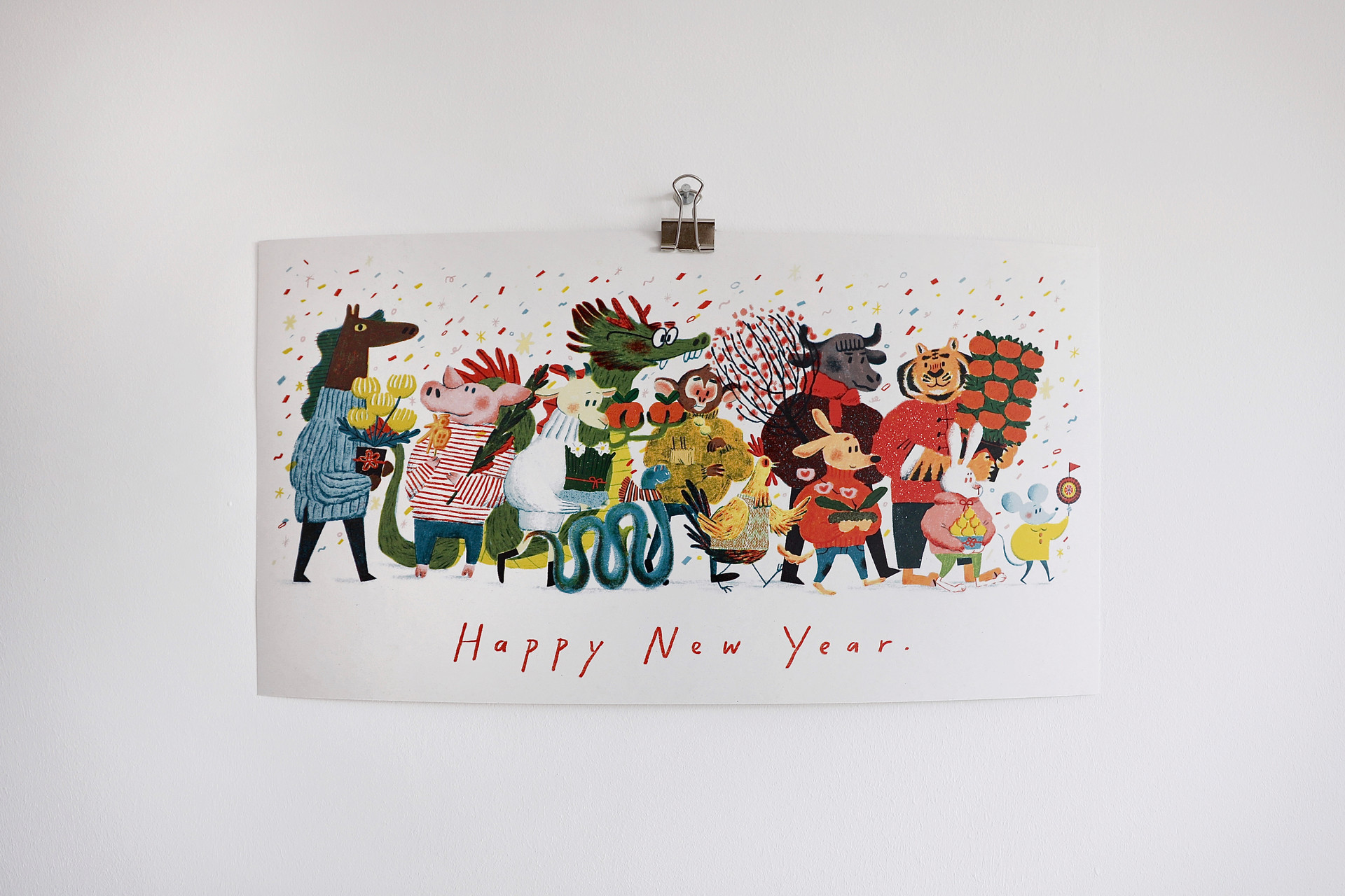 New year print