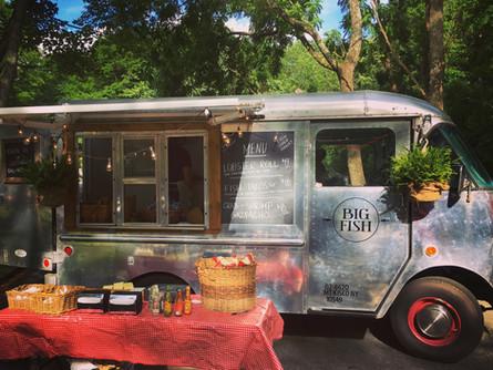 Food truck Fridays in pound Ridge.