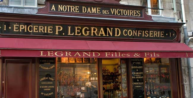 Винный магазин Legrand Filles