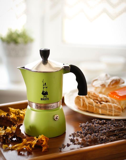 Кофеварки Bialetti Fiammetta зеленая