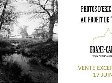 Фотографии Шато Бран Кантенак, сделанные Эриком Буассно, будут проданы на благотворительном аукционе