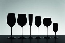 Riedel black glass