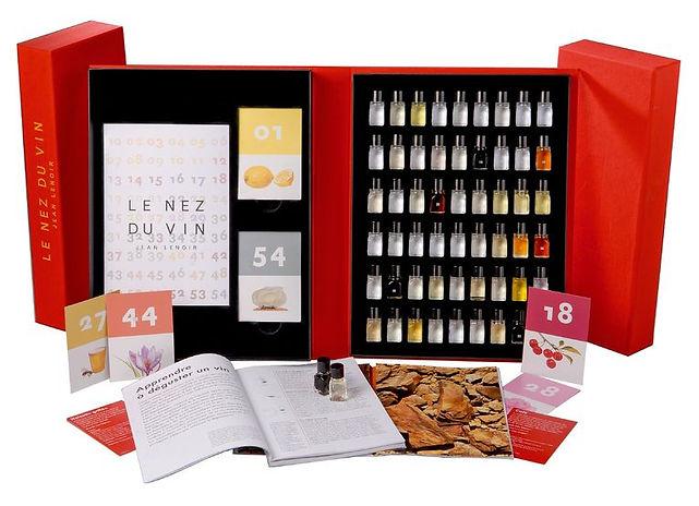 """Набор ароматов 54 """"Нос вина"""" Nez du vin"""