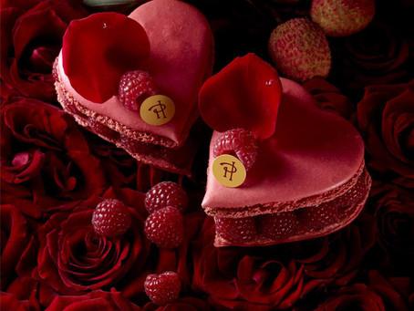 Pierre Herme выпустил коллекцию макарон и пирожных ко Дню Святого Валентина