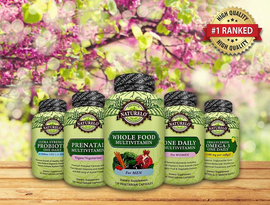 Органические витамины Naturelo