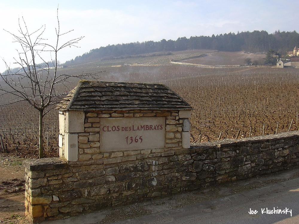 Виноградник Бургундии Франция Clos des Lambrays 1365