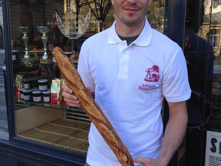 Лучший багет в Париже в этом году на Boulevard Brune