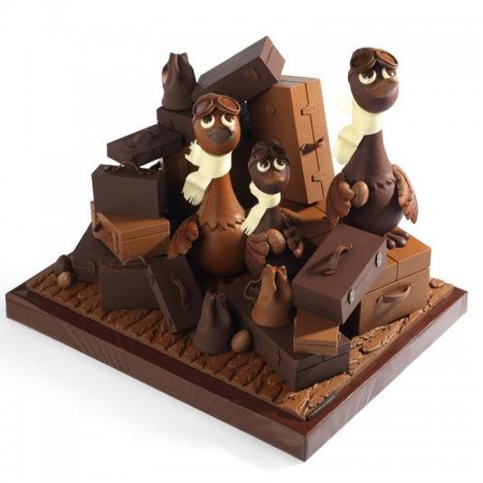 La Maison du Chocolate Paris пасхальные сладости франции
