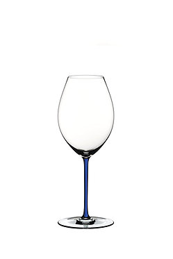 Бокал Riedel Fatto a Mano Old World Syrah Dark Blue с синей ножкой