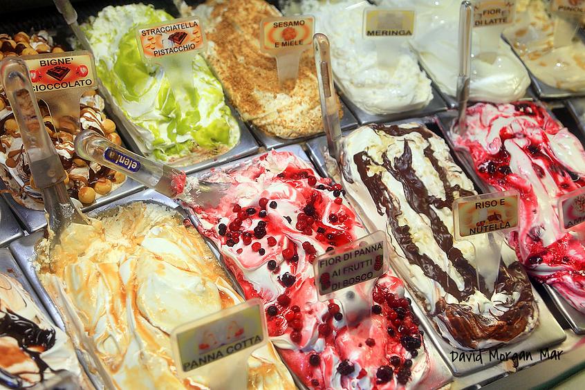 Лучшее мороженое Рима