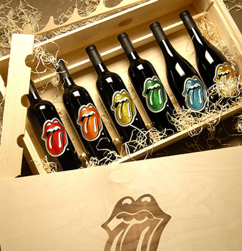 Вино рок-группы Rolling Stones