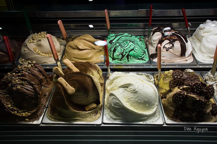 лучшее мороженое в Риме