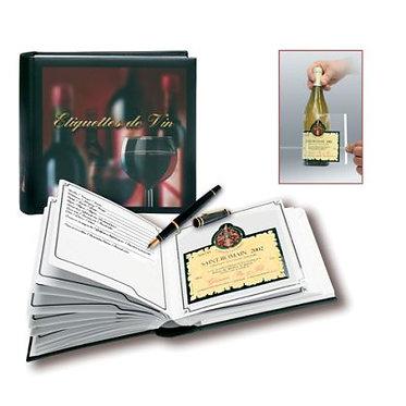 Дегустационная книга и альбом для этикеток Производитель: Сейф Франция/Safe France
