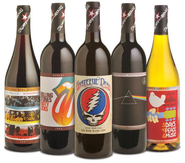 Вино от рок-музыкантов