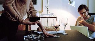 Декантирование вина