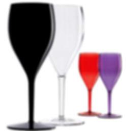 Небьющиеся бокалы для вечеринки Italesse