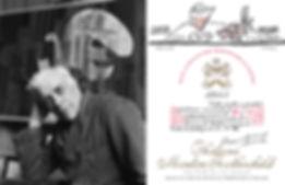 Жорж Брак (1955 г.) этикетка вина мутон ротшильд