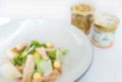 салат из осетрины фото рецепт