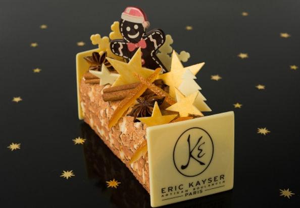 Eric Kayser noel рождественское полено
