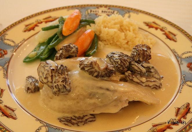 Сочетание блюд с шабли курица со сморчками