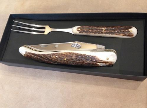 набор для стейка рог оленя laguiole