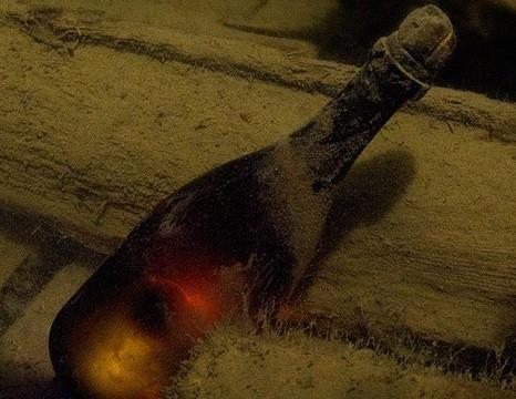 Veuve Clicquot выдержка шампанского в Балтийском море