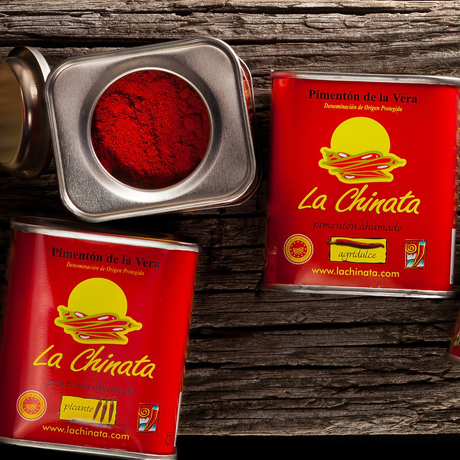 На фото: Традиционная паприка La Chinata