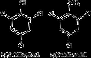 Формула Трихлорэтилена