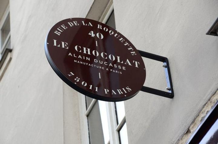 Шоколатье Ален Дюкасс магазин Париж