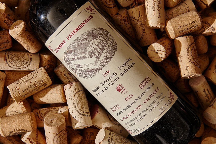 Domaine Paterianakis винная этикетка