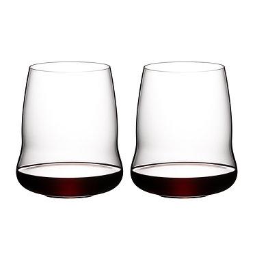 набор хрустальныхбокалов для красного вина 6789/0Riedel Stemless Wings Cabernet Sauvignon