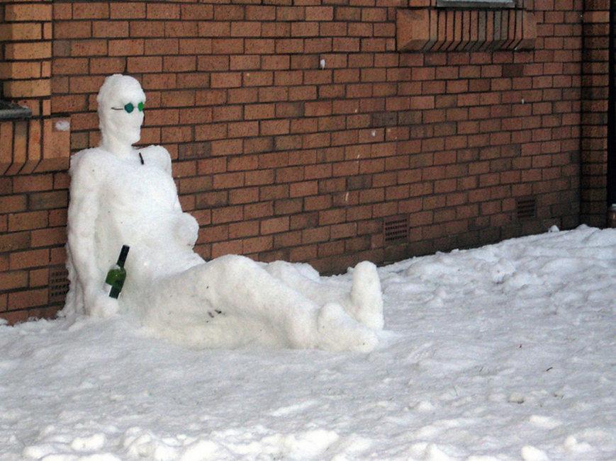 оригинальные снеговики