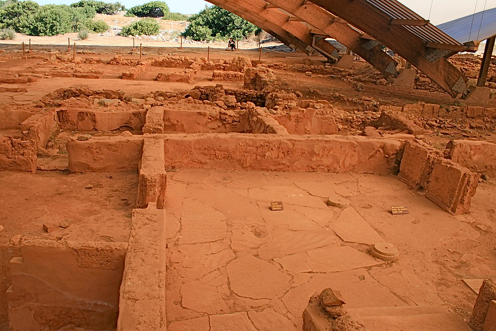 Раскопки в Греции