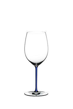 Бокал Riedel Fatto a Mano Cabernet /Merlot Dark Blue с синей ножкой