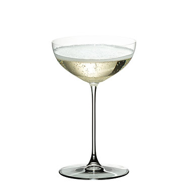 набор хрустальных бокалов для мартини Riedel Veritas Coupe Moscato Martini - 2 шт.