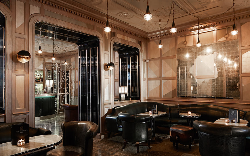 Connaught элегантный бар в Лондоне, Великобритания