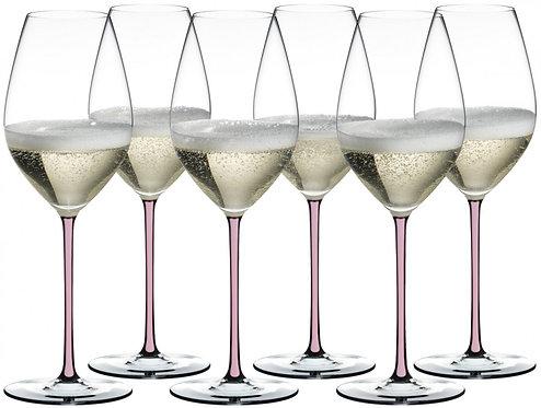 Набор хрустальныхбокалов для вина Riedel Fatto Riesling/Zinfandel Pink купить