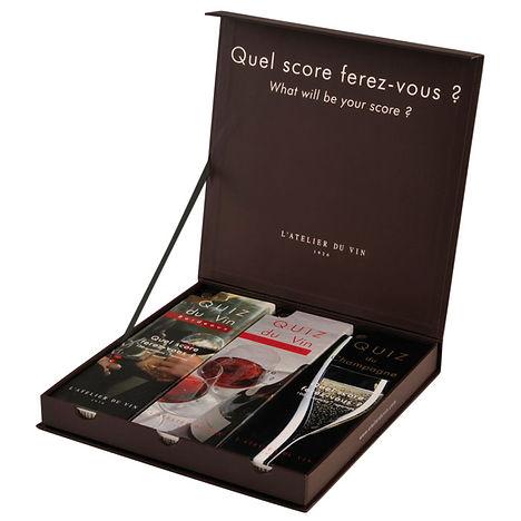 Винная квиз викторина L'atelier du vin