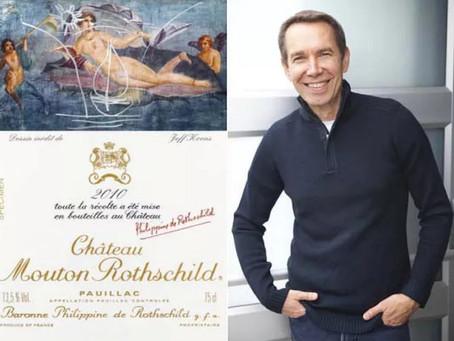 Chateau Mouton-Rothschild представило этикетку для вина 2010 года урожая