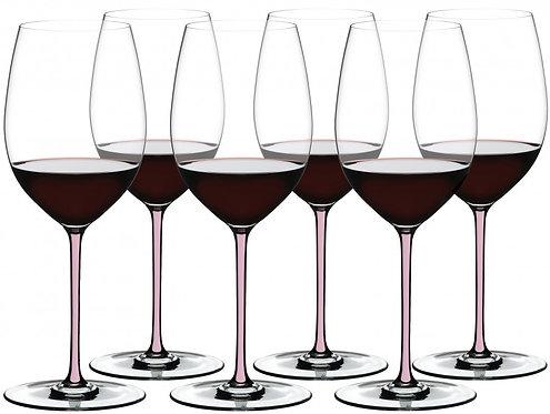 Набор хрустальныхбокалов для вина Riedel Fatto Cabernet/Merlot Pink купить