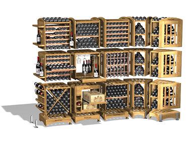 Мебель для винного погреба Eurocave Modulothiqie стеллажи