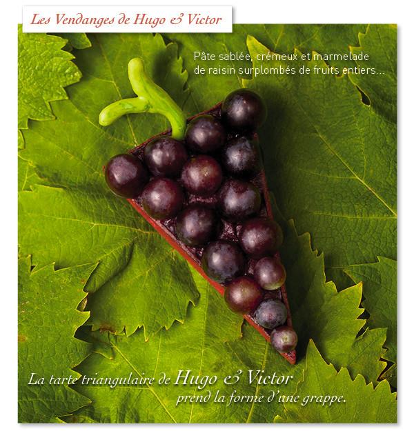 Десерт французских кондитеров Victor&Hugo
