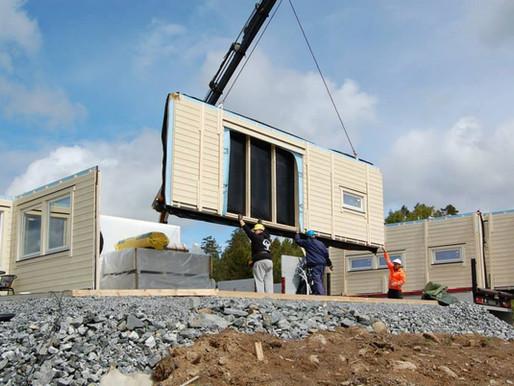 Hvorfor er det så lurt å bygge hus med elementer?